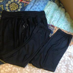 Pants - Black Lululemon Joggers